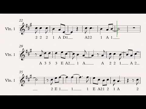 Pokemon Theme for Violin