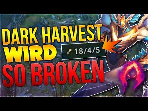 Das Neue Dark Harvest wird SO BROKEN [League of Legends] [Deutsch / German]