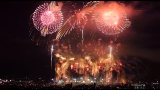 2014 長岡花火 天地人花火 「野村煙火工業」 [4K]  2014年8月3日 Nagaoka Fireworks festival