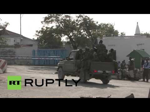 Somalia: Troops patrol Presidential Palace after attack thumbnail