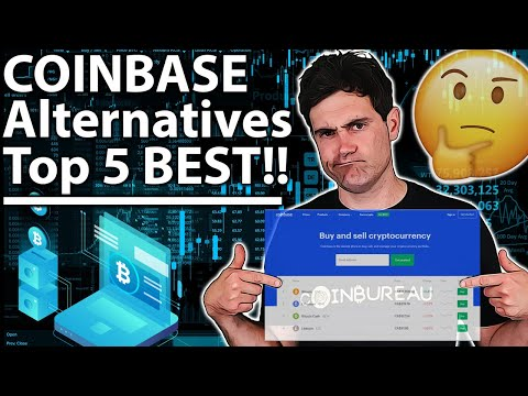BEST Coinbase Alternatives: 5 TOP Exchanges ✅