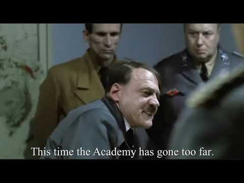 Hitler Reacts To Birdman Or (The Unexpected Virtue Of Ignorance) Winning Best Picture
