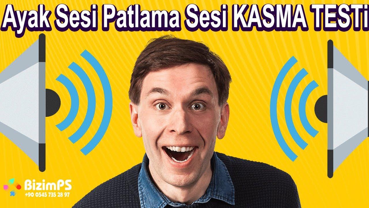 Oyuncu kulaklık Testi Ses Kasma Ayak Sesi Patlama Sesi Kasma SOL SAĞ YÖN (PS ve PC) 2020 Güncell