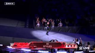 WWE 2K16: AJ Styles Entrance (Xbox One)