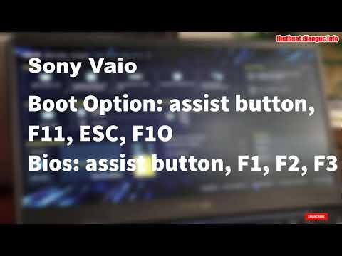 Tổng hợp phím tắt vào Boot Option và BIOS của máy tính