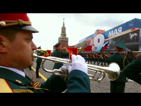 Главные парады Победы на Красной площади NoNaMe