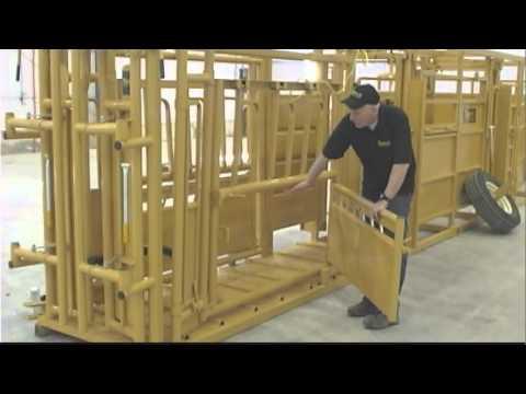 Tuff Equipment Cattle Handling System.
