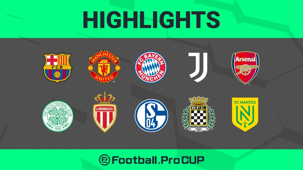 HIGHLIGHTS  |  eFootball.Pro Cup Knockout Stage