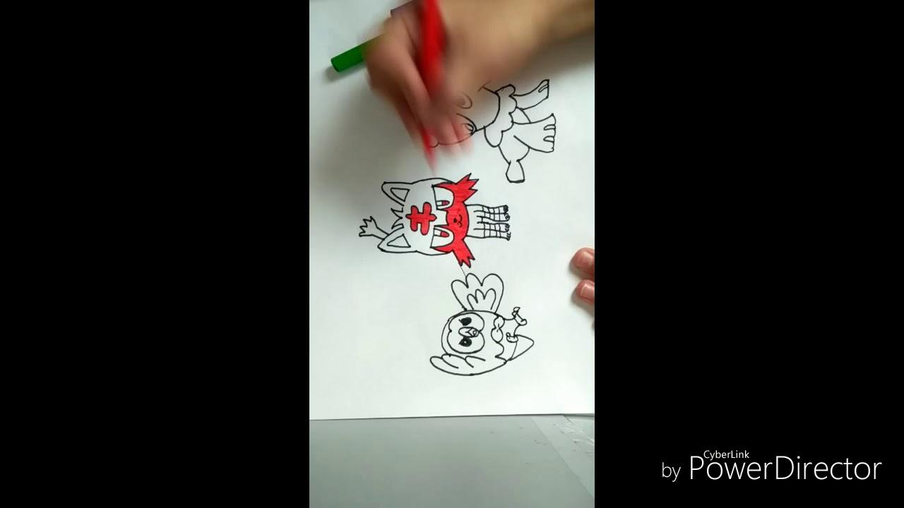 Drawing Pokemon Zeichnen Pokemon Kresleni Pokemonu Youtube