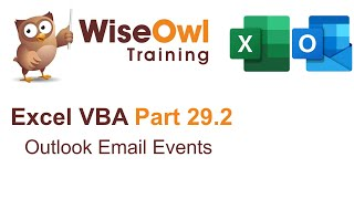 [30.67 MB] Excel VBA Introduction Part 29.2 - Outlook Email Events