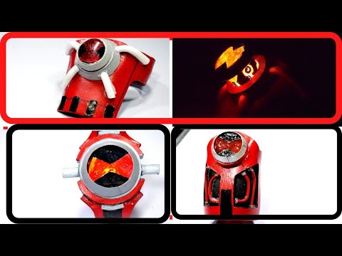 How To Make Ben 10  All Albedo Omnitrix  From Paper/eva Foam