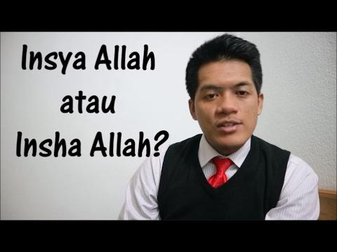 Insya Allah atau Insha Allah? | #ArabicFirstID - 16