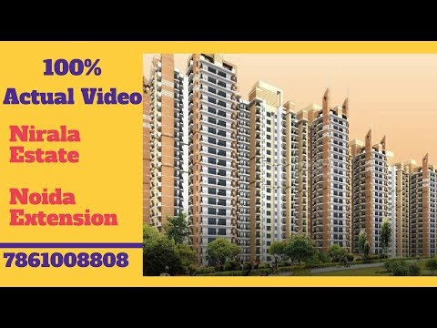 Nirala Estate Noida Extension Actual Video | 7861008808