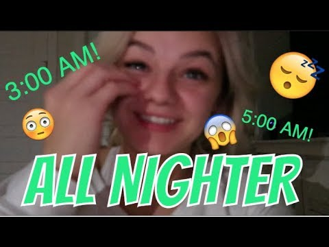 PULLING AN ALL NIGHTER WITH BOYS || KESLEY JADE LEROY