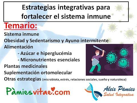 Estrategias integrativas para fortalecer el sistema inmune.