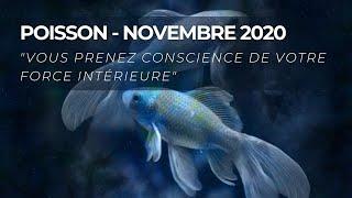 Poisson - Novembre 2020 / Prise de conscience de votre force intérieure