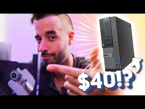 $40 STREAMING PC  - No Really, 720p/60