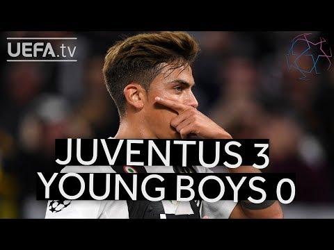 JUVENTUS 3-0 YOUNG BOYS #UCL HIGHLIGHTS