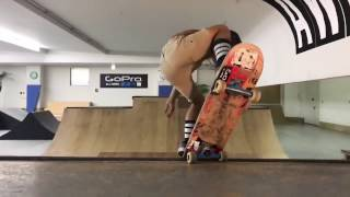 Ocean Brown 5 years old Skateboarding
