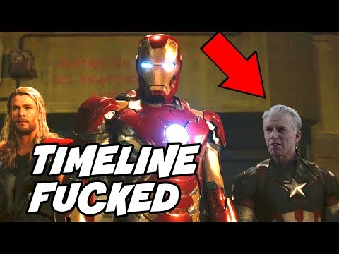 MCU timeline after Captain America time travel & VFX Interview Tried to Explain Avengers Endgame