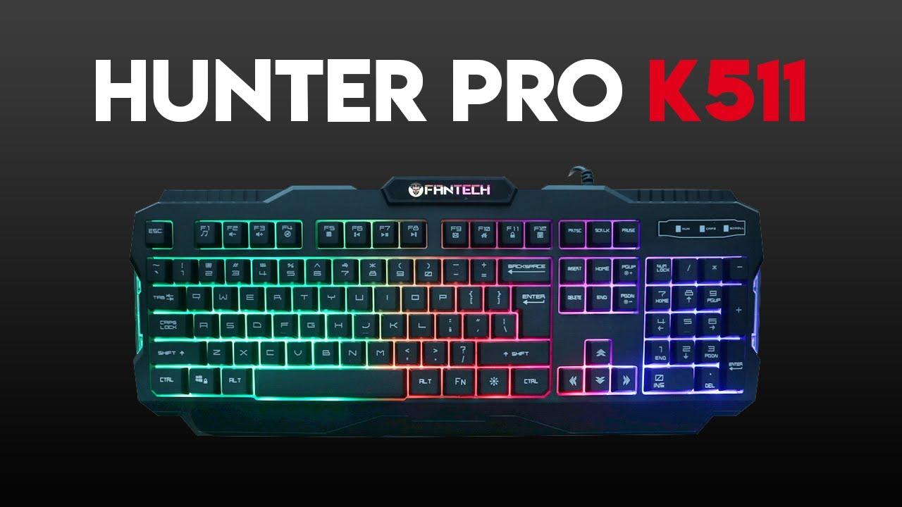 HUNTER PRO K511 Backlit Pro Gaming Keyboard