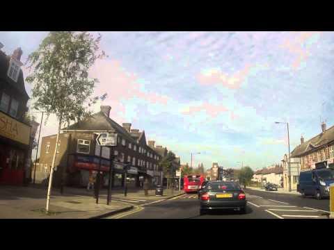 Driving in London - Harrow to Pinner