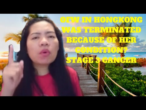 OFW in Hongkong was terminated because of her condition Stage 3 cervical cancer #Yvettesvlog #HK