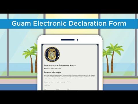 Guam's Electronic Declaration Form