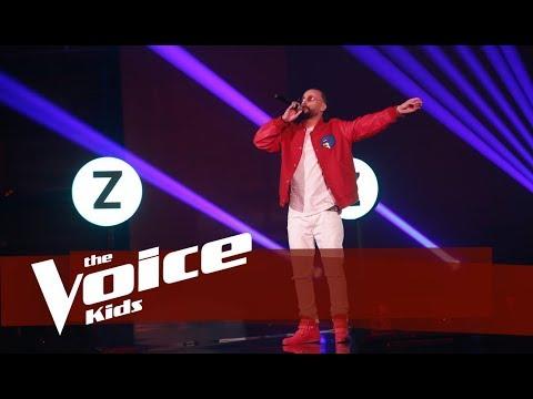 Young Zerka - Kolazh   Netët Live   The Voice Kids Albania 2019