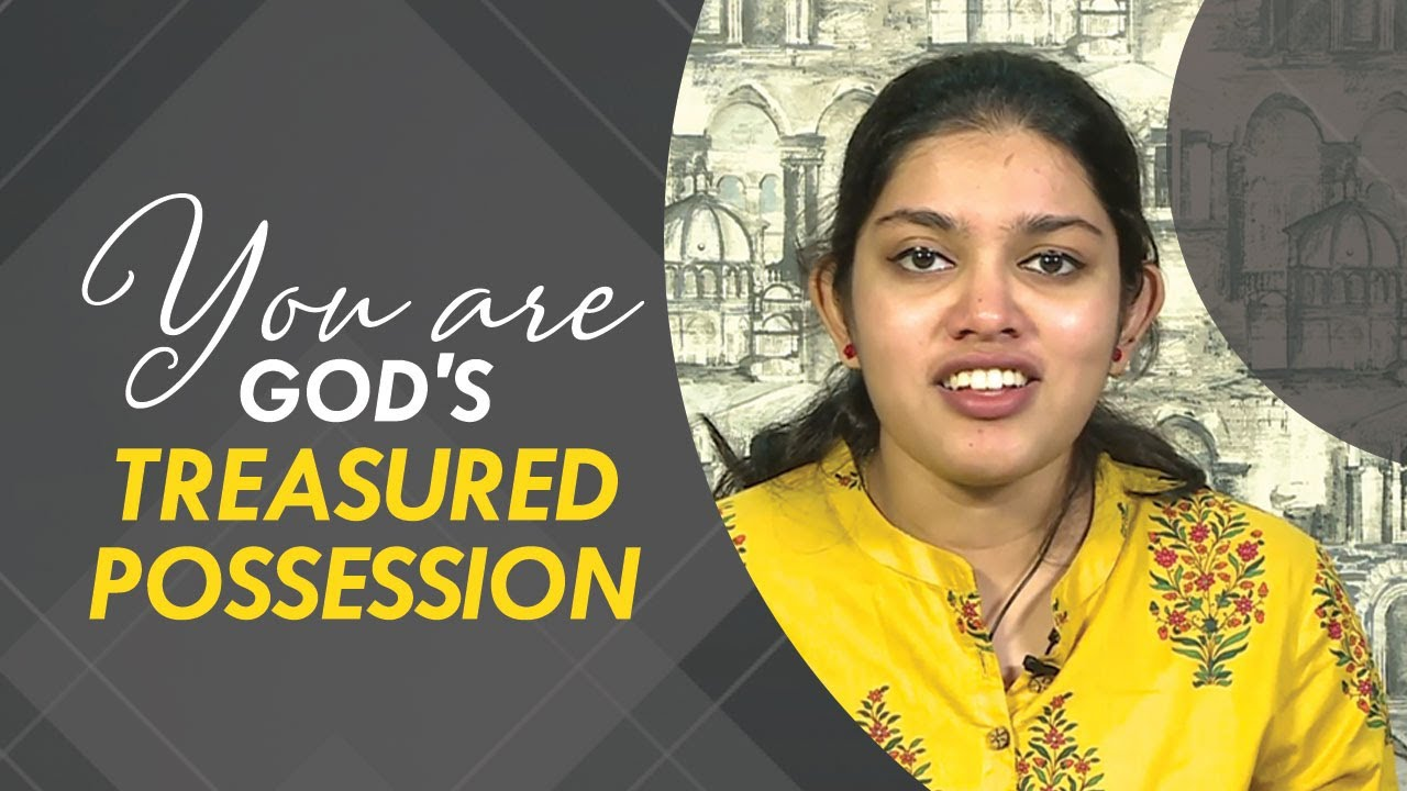 You Are God's Treasured Possession | Shilpa Samuel Dhinakaran | Jesus Calls