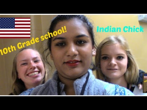 American High School Vlog| 10th Grade|That Indian Chick