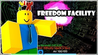 ROBLOX l FE2 MAP TEST l FreeDom Facility [Insane]