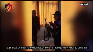 Vijon dorëzimi i armëve në Policinë e Tiranës