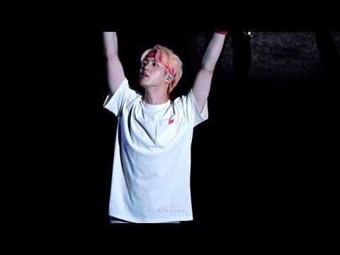 4K Ending Ment + Answer:Love Myself 방탄소년단 진 석진 직캠 BTS Jin Focus Fancam