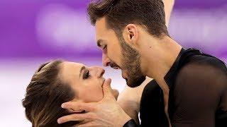 Gabriella Papadakis, Guillaume Cizeron Short Dance at Winter Olympics   Pyeongchang 2018