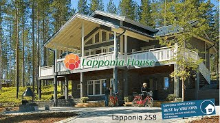Lapponia House 258 Kaskilinna - palkittu lämpöhirsitalo. Award-winning ecological log home