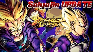 Saiyajin UPDATE! ALLE Neuigkeiten vom Update im Video! ;D Vegeta & Trunks Hype | Dragon Ball Legends