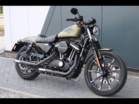 2017 Harley Davidson Sportster Iron Crusher Pipes Olive
