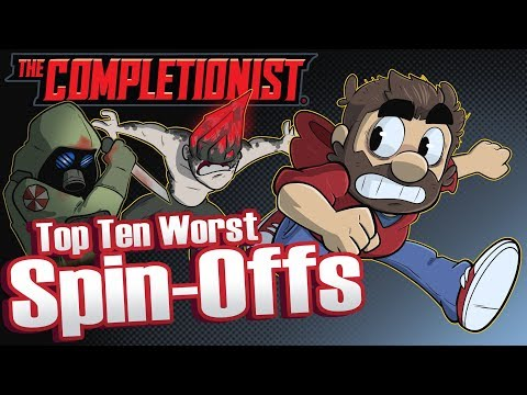 Top 10 WORST Video Game Spin Offs | The Completionist