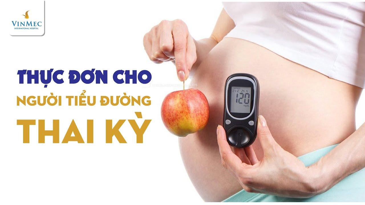 Thực đơn cho người bị tiểu đường thai kỳ sao cho phù hợp? Có được uống nước dừa không?