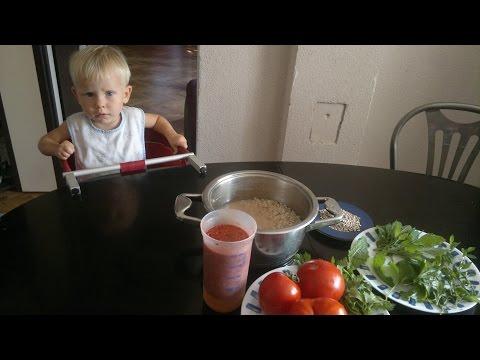 Рецепт Сыроедный рисовый суп.Поставляем кремний и белок в растущие организмы