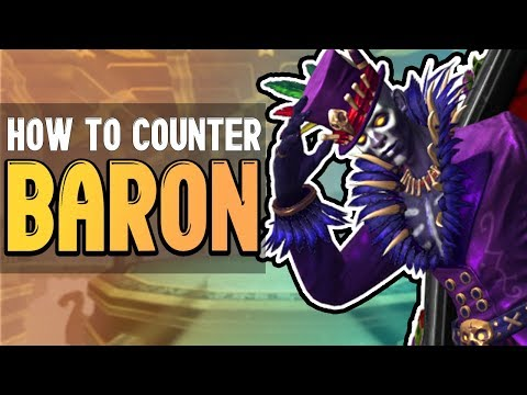 SMITE: How to Counter Baron Samedi