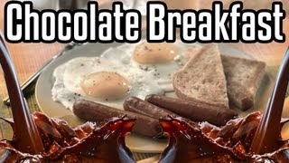 Repeat youtube video Chocolate Breakfast - Epic Meal Time