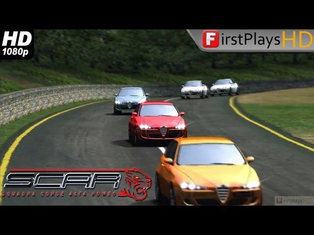 S.C.A.R. - Squadra Corse Alfa Romeo - PC Gameplay 1080p