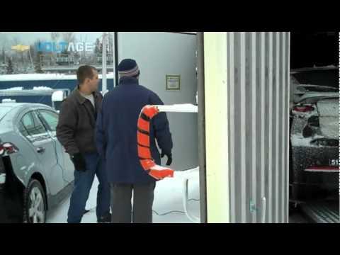 Chevrolet Volt undergoes Cold Weather Testing in Kapuskasing Canada