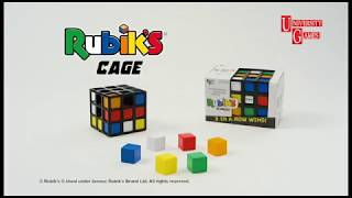 Rubik's Cage - The Mind Bending Game from University Games