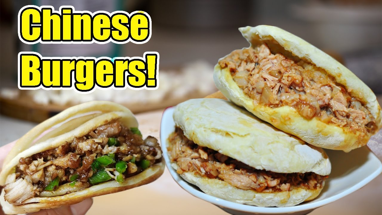 Cooking JUICY CHINESE BURGERS in INSTANT POT! Easy Recipe for MUST TRY Pork Burgers 肉夹馍