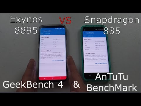 Galaxy S8: Exynos 8895 VS Snapdragon 835 | Which is faster?