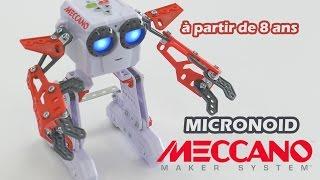Micronoid - Démo du robot programmable de Meccano
