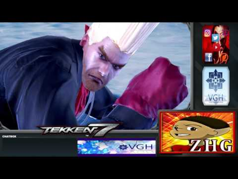 Tekken 7 : VGH - Video Gamers Hawaii - King of Iron Fist Tournament 808 (Part 2)